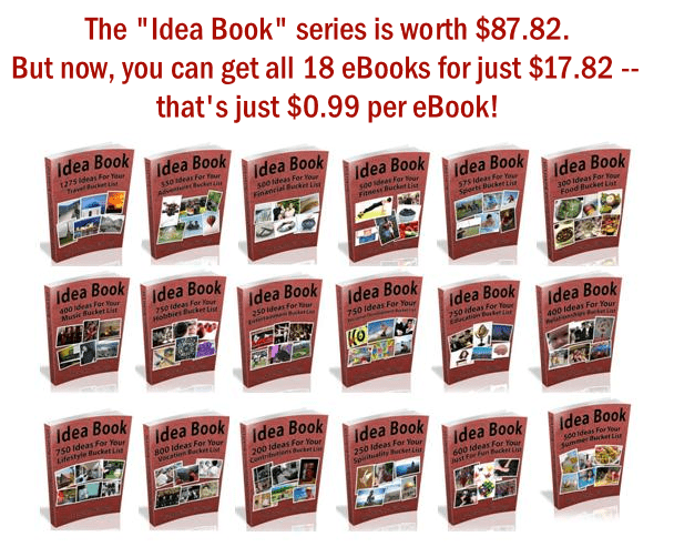 Idea Book Series