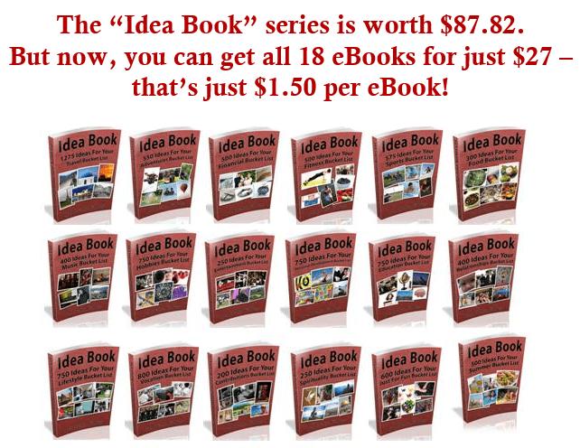 Idea Book Series