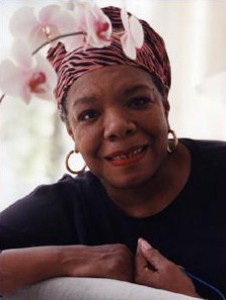 Maya Angelou's writing tips