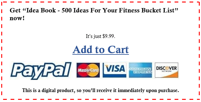add to cart fitness