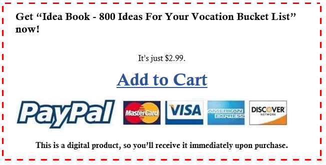 add to cart vocation