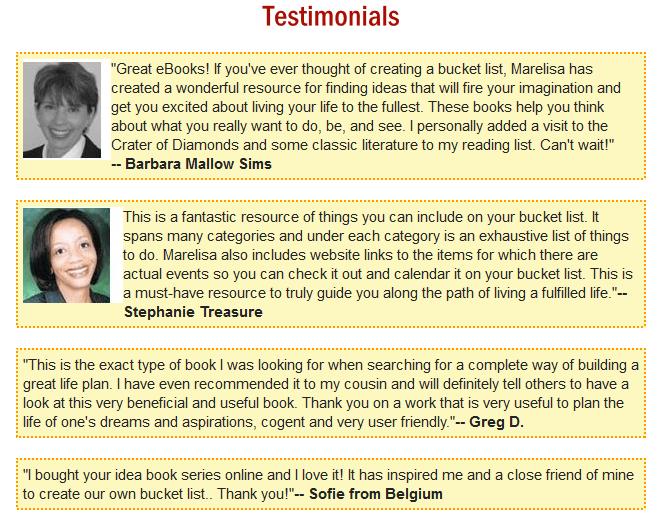 testimonials one