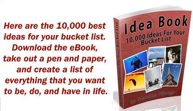 banner bucket list