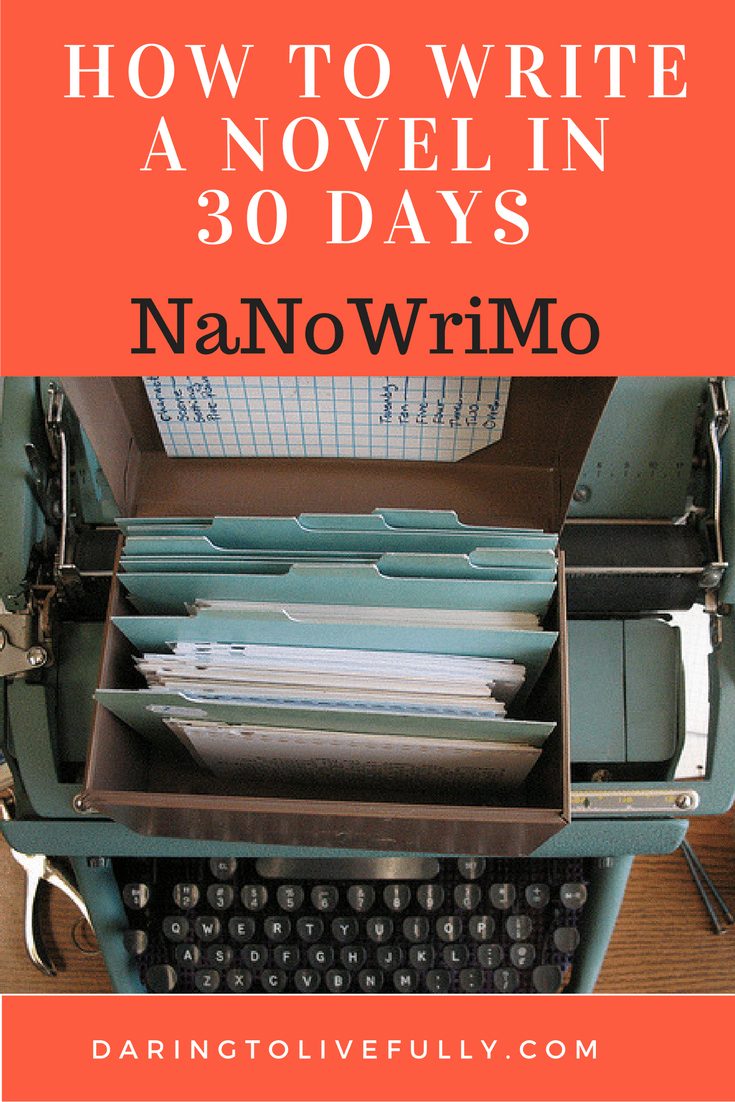 how to write a novel in 30 days Commitment whether you choose 60 days, 30 days or 6 months as your goal, all that matters is that you commit to it and implement a schedule that will get you there.