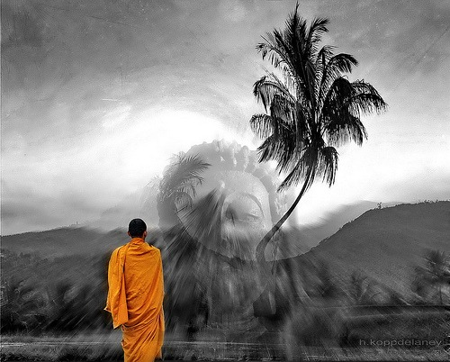 Buddhist path to happiness