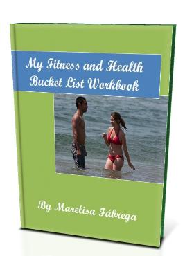 3d Cover- My Fitness and Health Bucket List Workbook