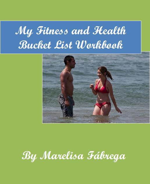 Cover -My Fitness and Health Bucket List Workbook
