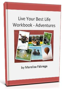 Live Your Best Life Workbook - Adventures-3D