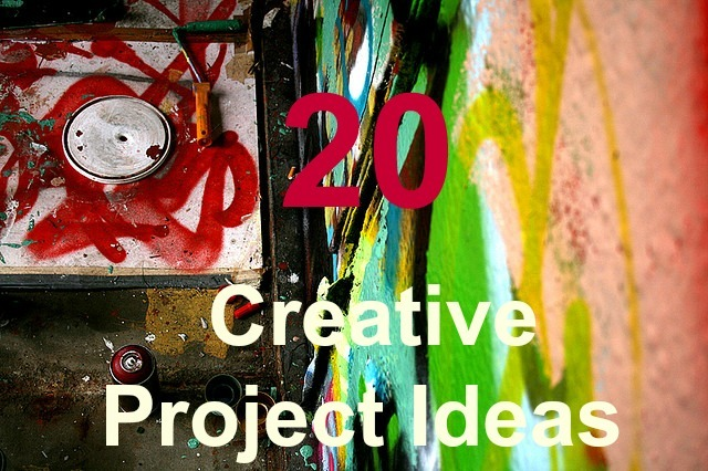 creative ideas for writing projects