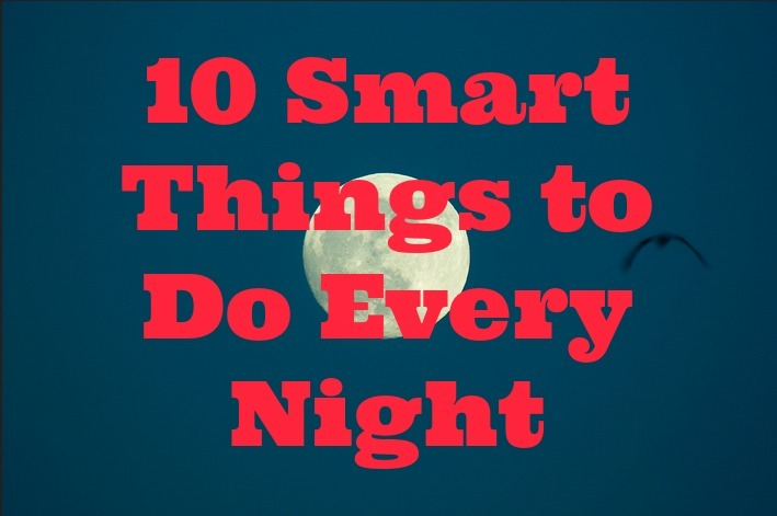 smart things to do at night