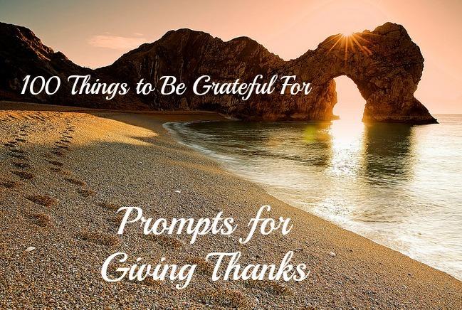 gratitude prompts