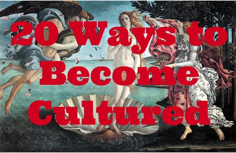 ways to become cultured
