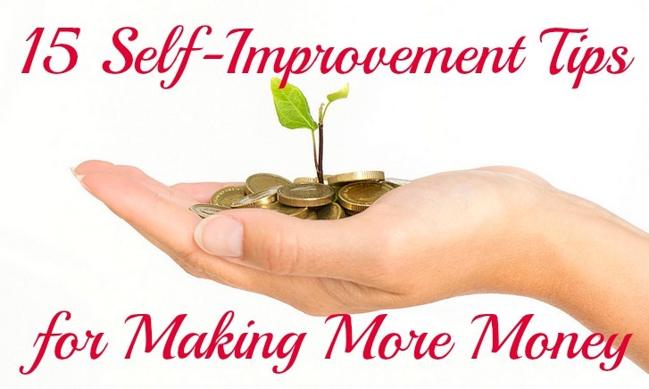 self-improvement tips for making more money