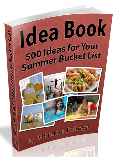 Idea Book - 500 Ideas For Your Summer Bucket List