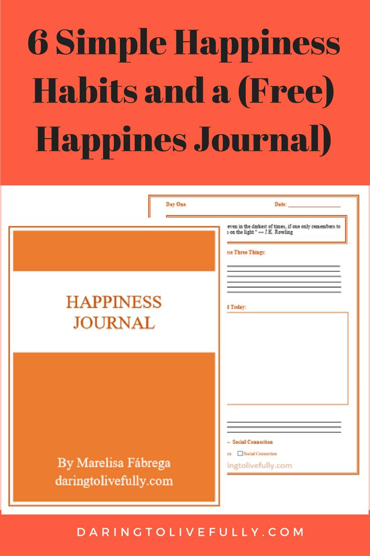 happiness habits