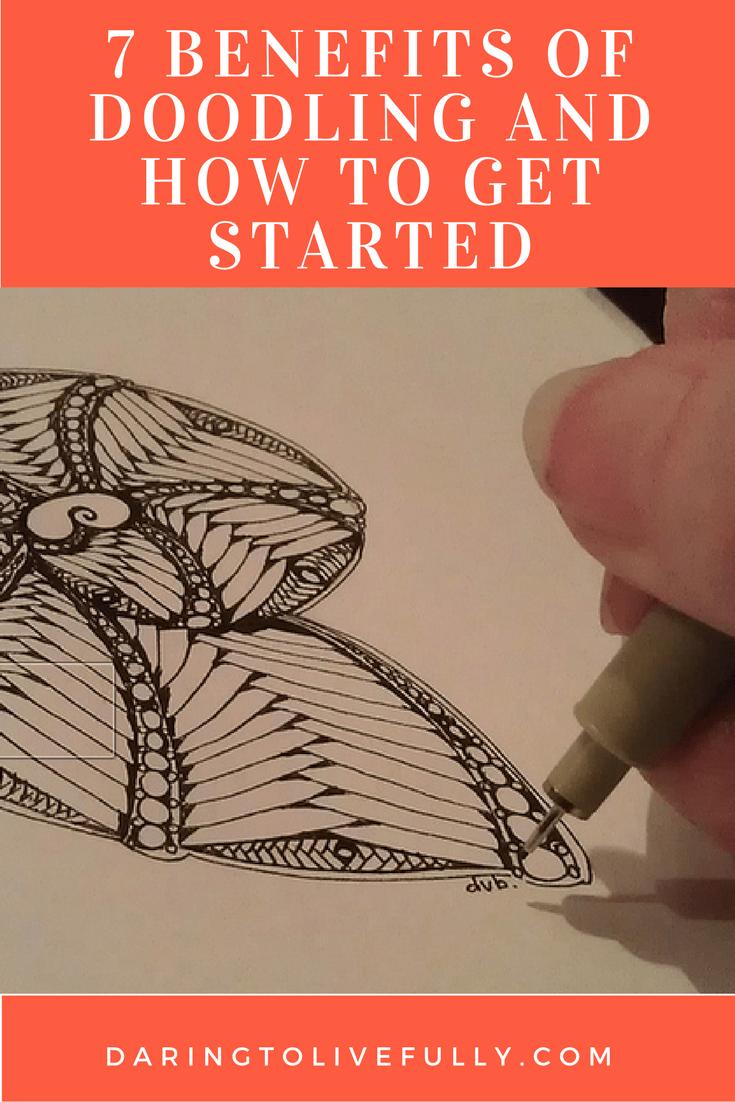 benefits of doodling