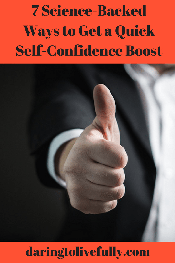 quick self-confidence