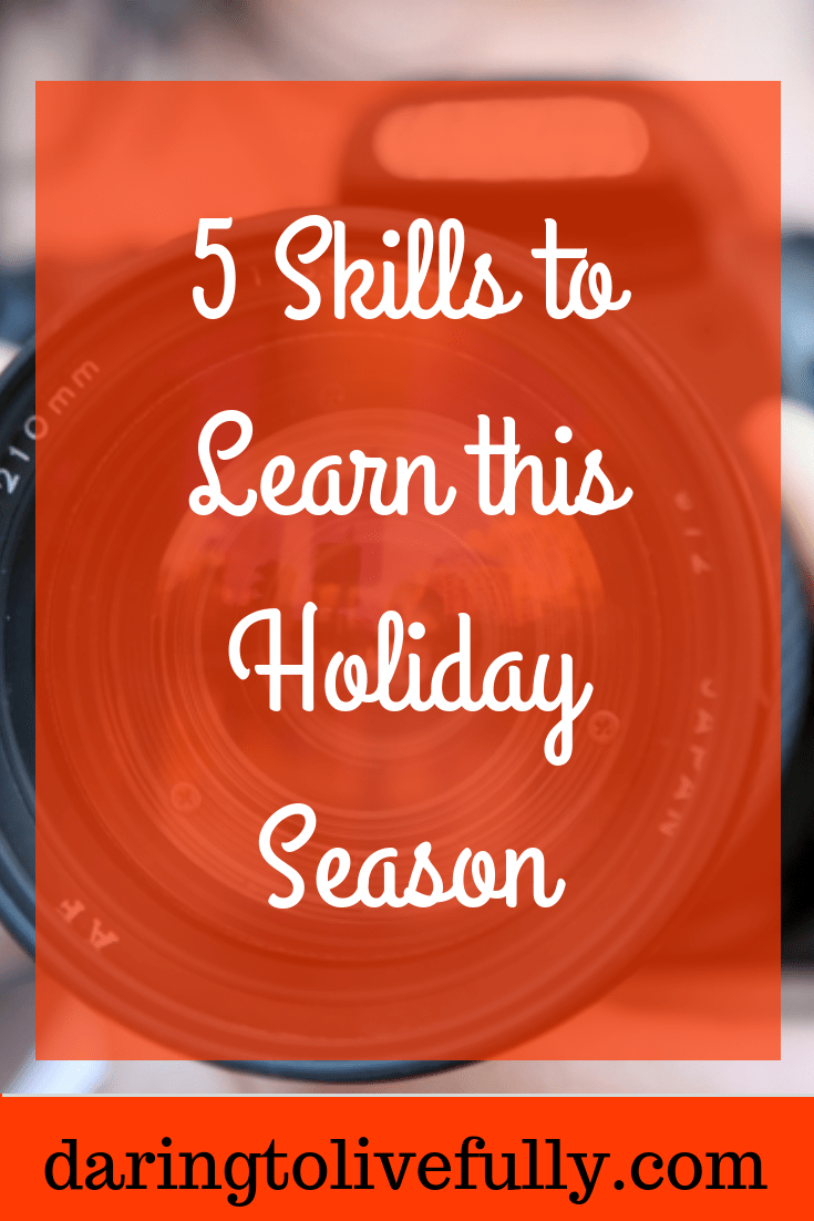 skills to learn this holiday season