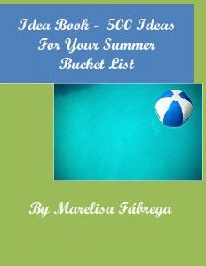 Idea Book - 500 Ideas For Your Summer Bucket List Cover