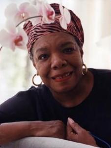 Maya Angelou's writing tips
