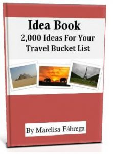 travel bucket list 3D cover