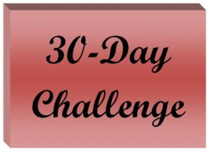 30-day challenge