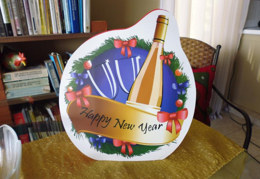 Happy New Year decoration