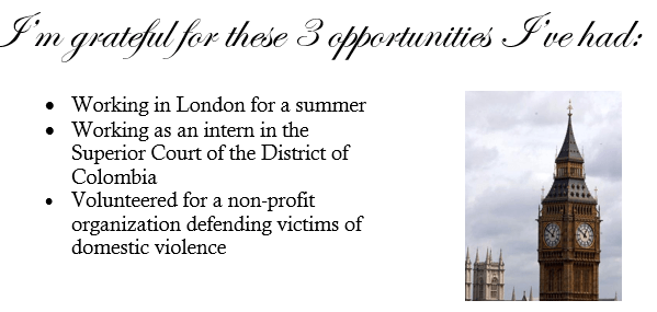 three opportunities