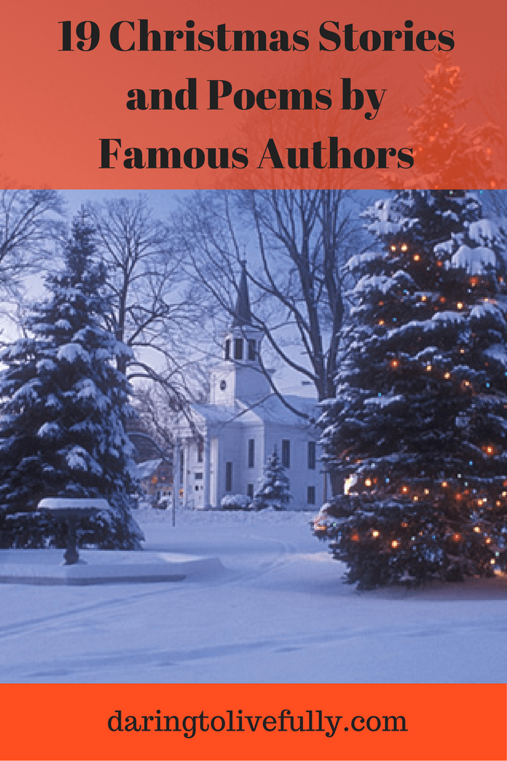 Short Christmas Poems For Church.19 Christmas Stories And Poems By Famous Authors