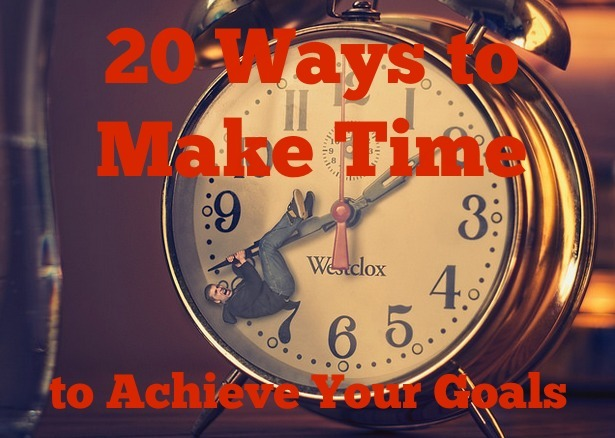 make time for your goals