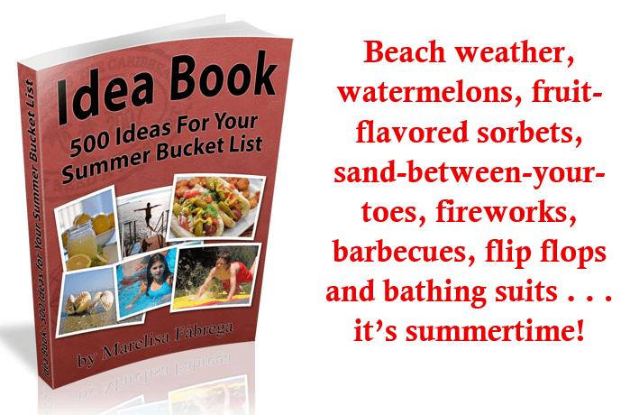 summer bucket list header 2