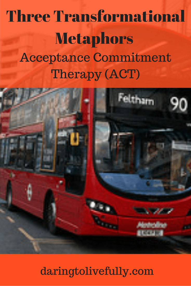 acceptance and commitment therapy Acceptance and commitment therapy (act) is a type of psychotherapy that helps you accept the difficulties that come with life act has been around for a long time.