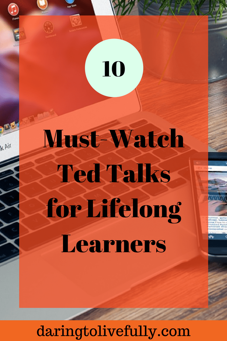 TED Talks for lifelong learners