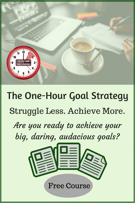 the one-hour goal strategy