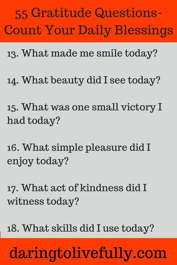 gratitude questions
