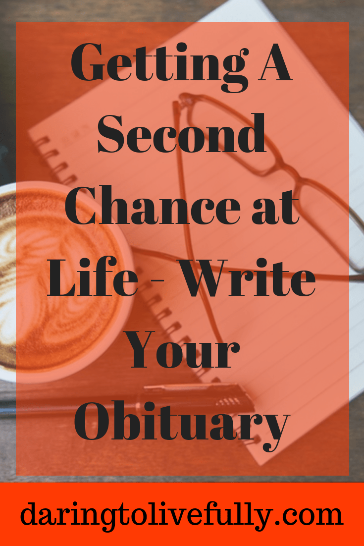 write your obituary