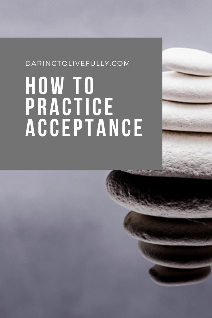 practice accpetance