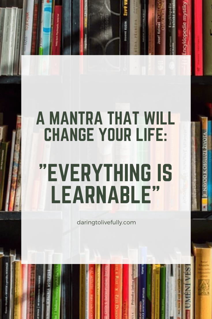everything is learnable